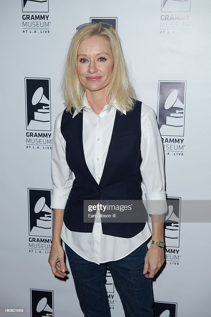 Shelby Lynne attends 'Happy On The Ground: 8 Days At Grammy Camp' at The GRAMMY Museum on February 5, 2013 in Los Angeles, California.
