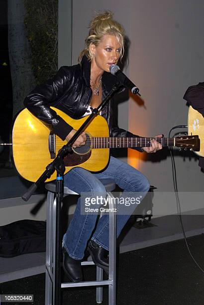 Shelby Lynne during Emporio Armani and ELLE Magazine Host 'Women On The Verge' Party at Emporio Armani in Beverly Hills California United States