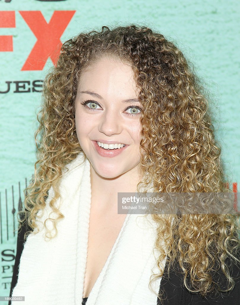 Shelby Malone arrives at season 4 premiere of FX's 'Justified' held at Paramount Theater on the Paramount Studios lot on January 5, 2013 in Hollywood, California.