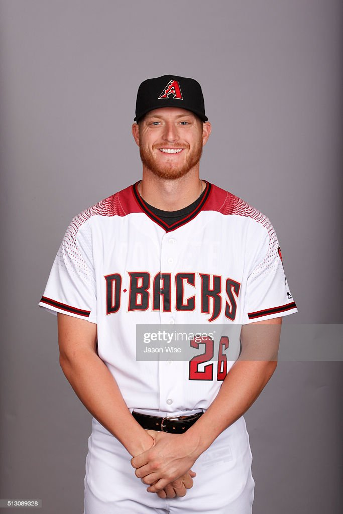 <a gi-track='captionPersonalityLinkClicked' href=/galleries/search?phrase=Shelby+Miller&family=editorial&specificpeople=4761626 ng-click='$event.stopPropagation()'>Shelby Miller</a> #26 of the Arizona Diamondbacks poses during Photo Day on Sunday, February 28, 2016 at Salt River Fields at Talking Stick in Scottsdale, Arizona.
