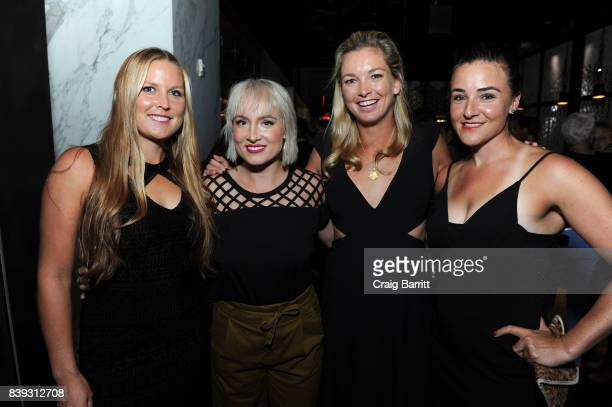 Shelby Rogers Bethanie Mattek Sands Coco Vandeweghe and Abigail Spears attend the Citi Taste Of Tennis with Coco Vandeweghe and friends at Hakkasan...