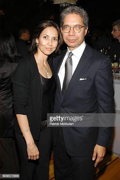 Shelby Stone and Henry McGee attend AFTER PARTY for HBO FILMS' Screening of 'LIFE SUPPORT' with Queen Latifah at Gotham Hall on March 5 2007 in New...