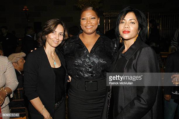 Shelby Stone Queen Latifah and Sam Martin attend AFTER PARTY for HBO FILMS' Screening of 'LIFE SUPPORT' with Queen Latifah at Gotham Hall on March 5...