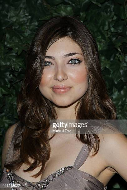 Shelby Young arrives to the QVC Celebrates Red Carpet Style held at Four Seasons Hotel on March 5 2010 in Beverly Hills California