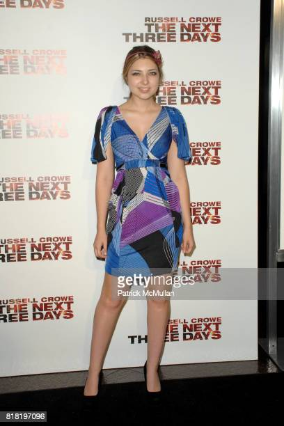 Shelby Young attends A special screening of THE NEXT THREE DAYS at DGA Theater on November 16 2010 in West Hollywood California
