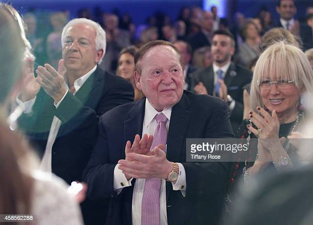 Sheldon Adelson attends the Friends Of The Israel Defense Forces 2014 Western Region Gala at The Beverly Hilton Hotel on November 6 2014 in Beverly...