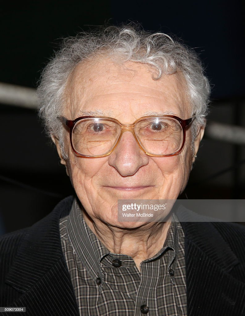 Sheldon Harnick during the Broadway Cast Recording of 'Fiddler on the Roof' at MSR Studios in Times Square on February 8, 2016 in New York City.