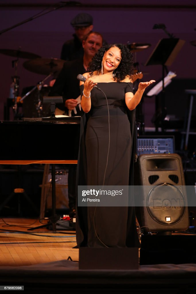 Shelea performs during 'City Winery Presents A Celebration of the Music of Jimmy Webb' at Carnegie Hall on May 3, 2017 in New York City.
