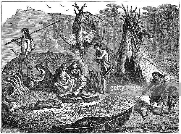 Shell Mound People 40002000 BC The Shell Mound People or KitchenMiddeners were huntergatherers of the late Mesolithic and early Neolithic period They...