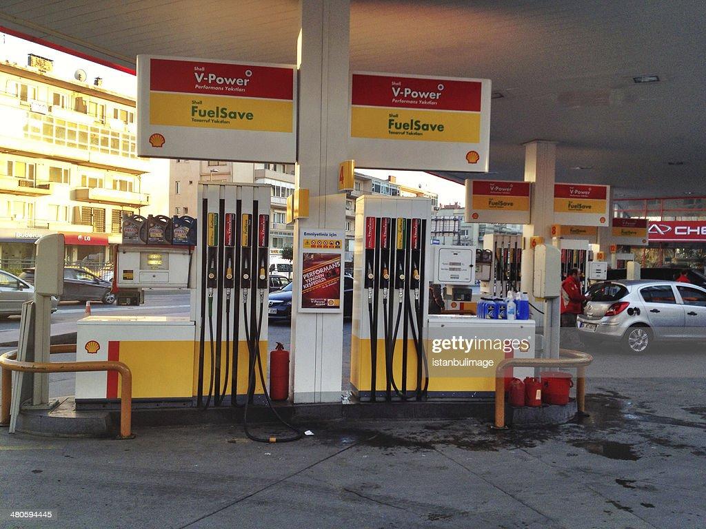 Shell Station : Stock Photo