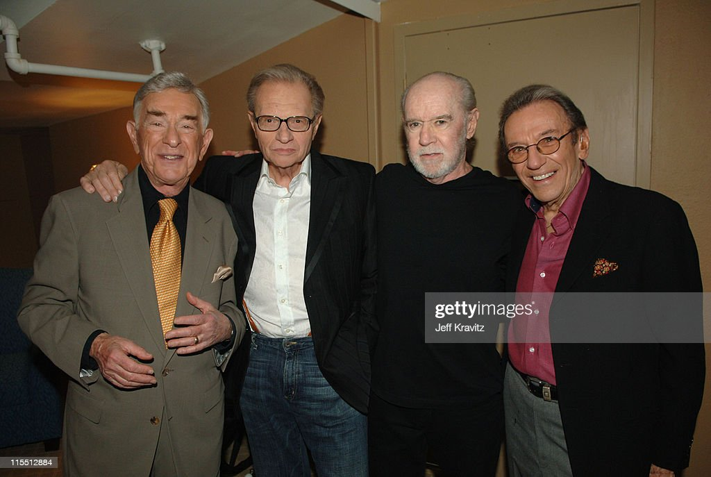 Shelley Berman, Larry King, George Carlin and Norm Crosby *Exclusive Coverage*