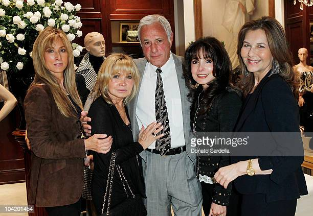 Shelley Cooper Cindy Williams actor John Aprea Judy Sher and IH Suttony attend Women's Guild CedarsSinai Medial Center Event at Ralph Lauren on...