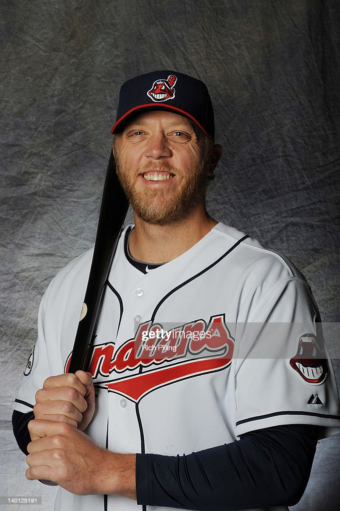 <a gi-track='captionPersonalityLinkClicked' href=/galleries/search?phrase=Shelley+Duncan&family=editorial&specificpeople=3906612 ng-click='$event.stopPropagation()'>Shelley Duncan</a> #47 of the Cleveland Indians poses for a portrait during a photo day at Goodyear Ballpark on February 28, 2012 in Goodyear, Arizona.