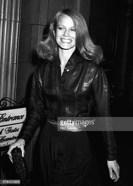 Shelley Hack attends Charlie's Angels Valentine's Day Party on February 10 1980 at the Beverly Wilshire Hotel in Beverly Hills California
