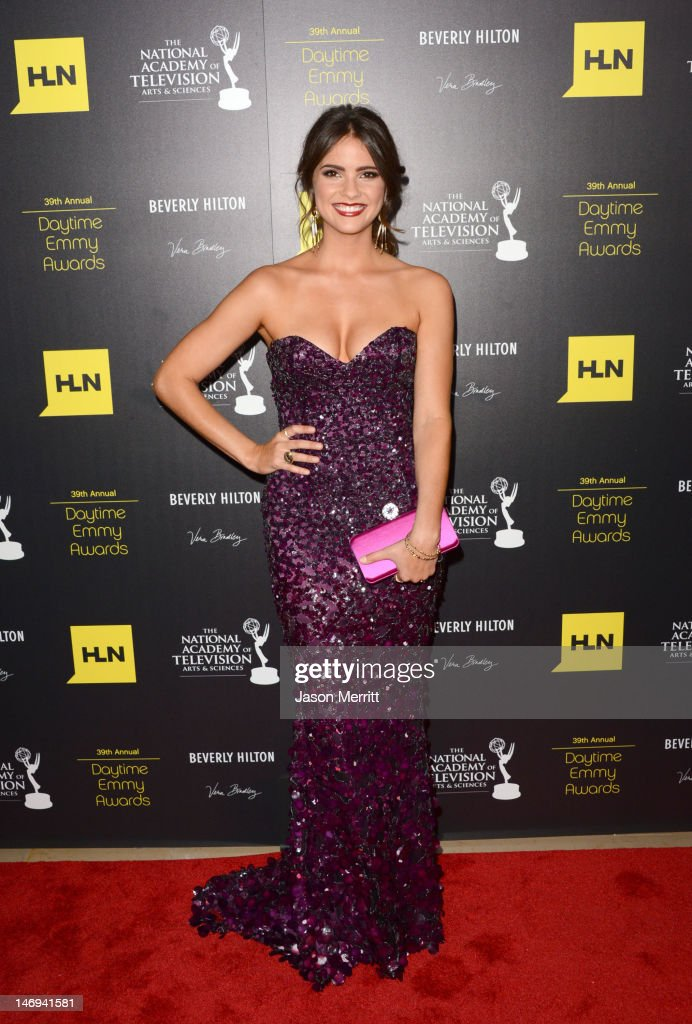 Shelley Hennig arrives at The 39th Annual Daytime Emmy Awards broadcasted on HLN held at The Beverly Hilton Hotel on June 23, 2012 in Beverly Hills, California. (Photo by Jason Merritt/WireImage) 22542_002_JM_2185.JPG