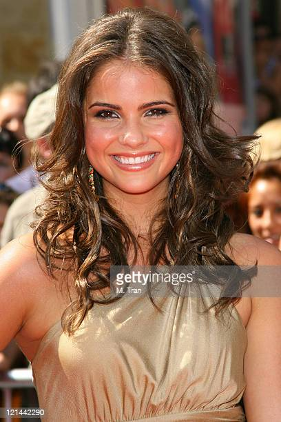 Shelley Hennig during 34th Annual Daytime Emmy Awards Arrivals at Kodak Theatre in Hollywood California United States
