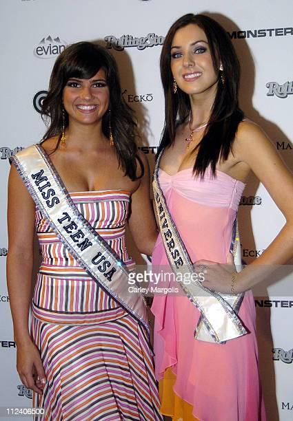 Shelley Hennig Miss Teen USA 2005 and Natalie Glebova Miss Universe 2005