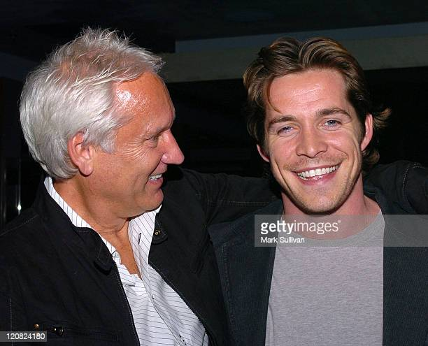 Shelley Jensen director and Sean Maguire during 'The Third Wish' Private Screening in Los Angeles at CineSpace in Hollywood California United States