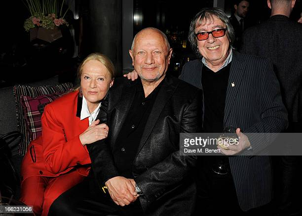Shelley Lee Steven Berkoff and Bill Wyman attend the Liberatum Cultural Honour for actor John Hurt in association with artist Svetlana KLie at W...