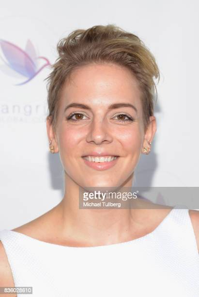 Shelley Parker attends the ShangriLa Global Launch and PopUp store on August 20 2017 in Beverly Hills California