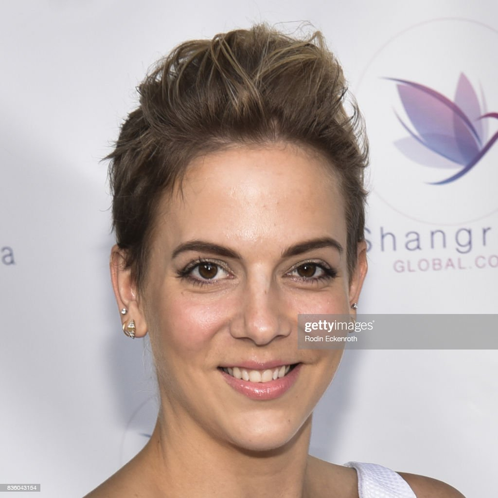 Shelley Parker attends the ShangriLa global launch and pop-up store on August 20, 2017 in Beverly Hills, California.