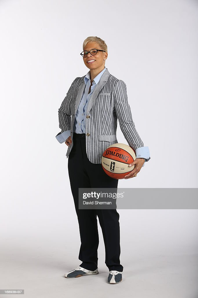 Shelley Patterson assistant coach of the Minnesota Lynx poses for portraits during 2013 Media Day on May 16, 2013 at the Minnesota Timberwolves and Lynx LifeTime Fitness Training Center at Target Center in Minneapolis, Minnesota.