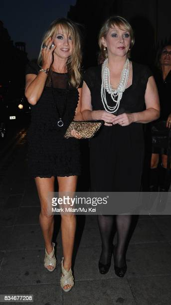 Shelley Preston and Cheryl Baker of Bucks Fizz attend Living TV's 15th Birthday in Covent Garden on September 03 2008 in London England