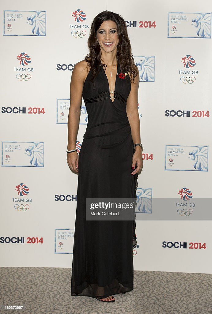 Shelley Rudman attends the British Olympic Ball at The Dorchester on October 30, 2013 in London, England.