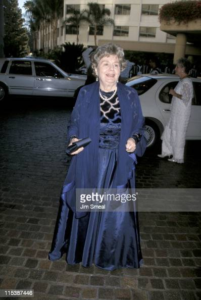 Shelley Winters during Miracles Gala Dinner In Honor of Rosie O'Donnell at Beverly Hilton Hotel in Beverly Hills CA United States