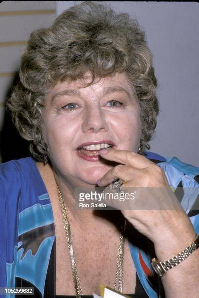 Shelley Winters during Shelley Winters Signs New Book 'Shelley II' at B Dalton Bookstore On 5th Avenue in New York City NY United States