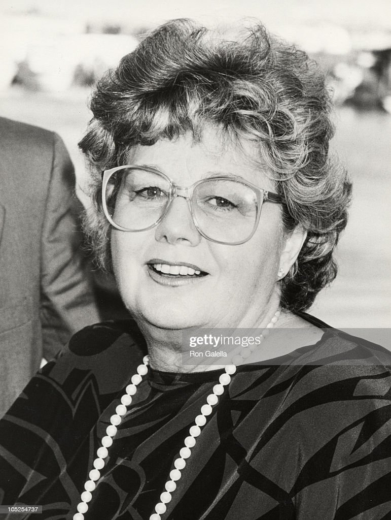 Shelley Winters during Surprise Birthday Celebration for Barry Landau - June 9, 1986 at Presidents Yacht at the Skyport Marina in New York City, New York, United States.
