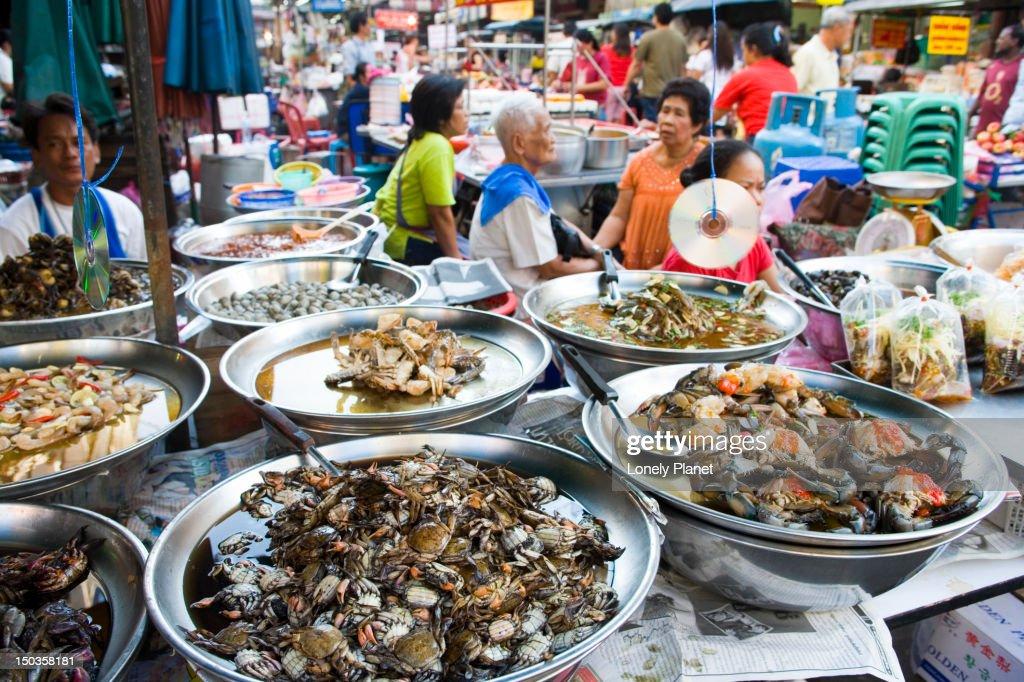 Shellfish for sale, Chinatown.