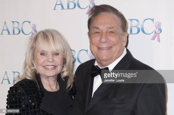 Shelly and Donald Sterling arrive to the Associates for Breast and Prostate Cancer Studies 24th Annual Talk of The Town Benefit Gala at The Beverly...