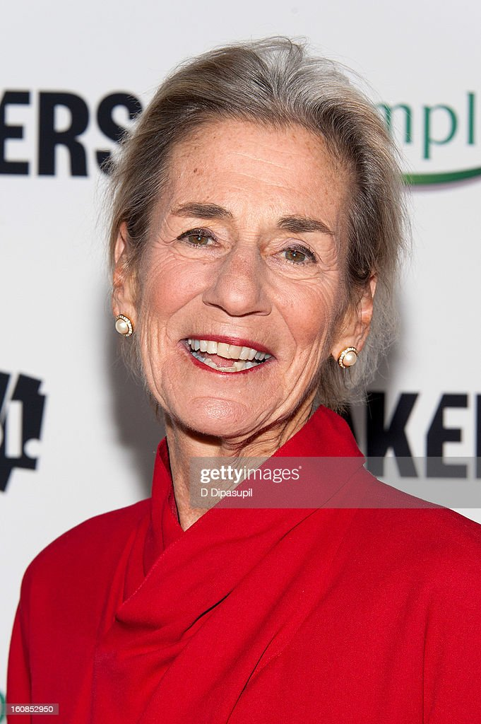 Women Who Make America' New York Premiere at Alice Tully Hall on February 6, 2013 in New York City.