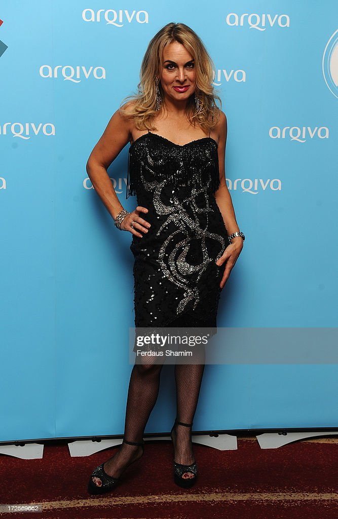 Shelly Preston attends the Arqiva Commercial Radion Awards at Park Plaza Westminster Bridge Hotel on July 3, 2013 in London, England.
