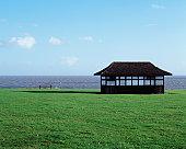 A shelter near the sea