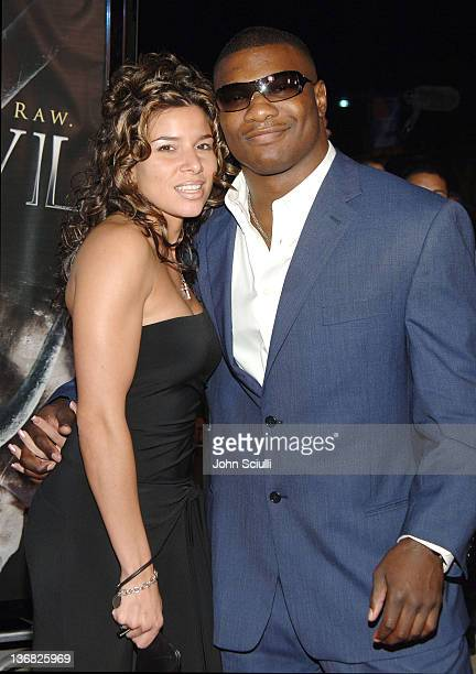 Shelton Benjamin WWE Raw Superstar and guest during 'See No Evil' Premiere Arrivals in Los Angeles California United States
