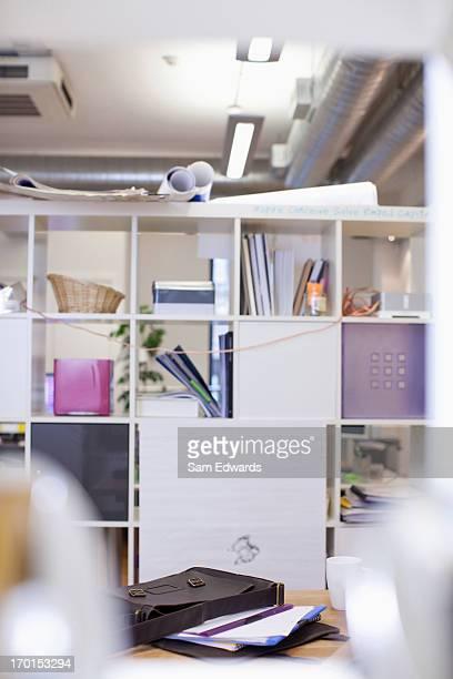 Shelves in office