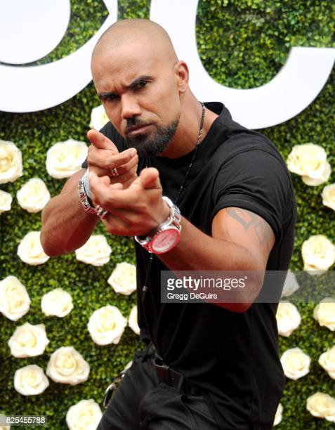 Shemar Moore arrives at the 2017 Summer TCA Tour CBS Television Studios' Summer Soiree at CBS Studios Radford on August 1 2017 in Studio City...