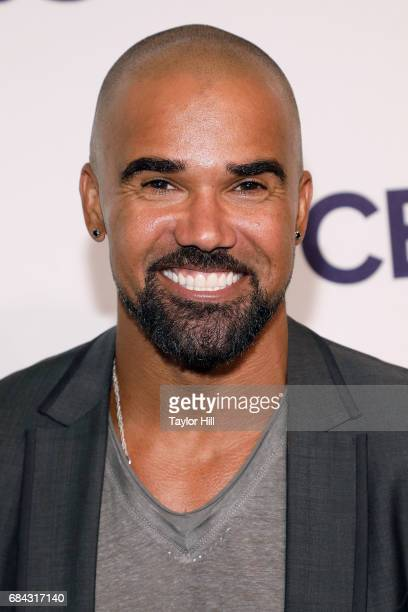 Shemar Moore attends the 2017 CBS Upfront at The Plaza Hotel on May 17 2017 in New York City