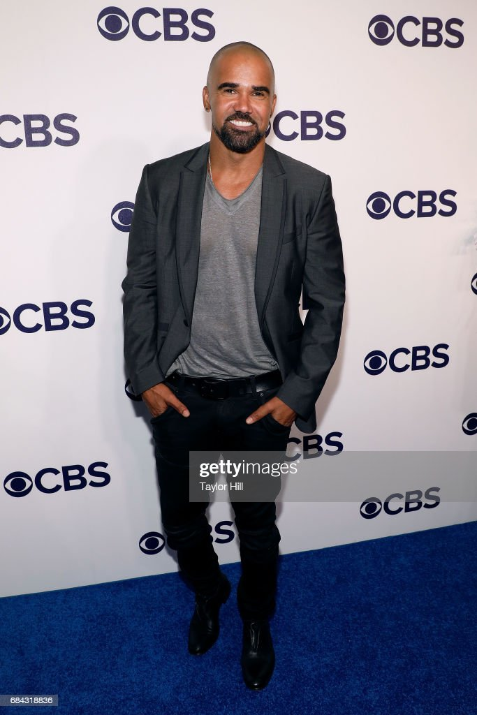 Shemar Moore attends the 2017 CBS Upfront at The Plaza Hotel on May 17, 2017 in New York City.