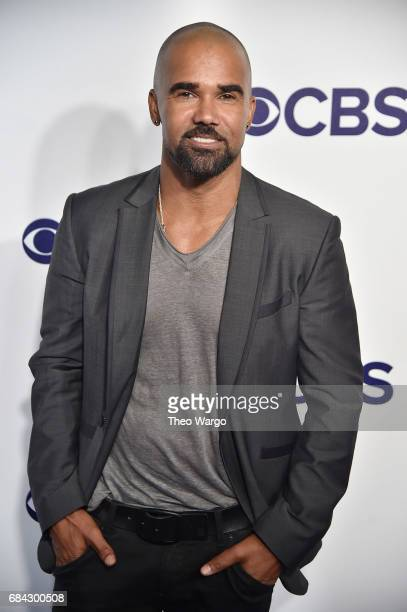 Shemar Moore attends the 2017 CBS Upfront on May 17 2017 in New York City