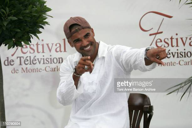 Shemar Moore during 2007 Monte Carlo Television Festival 'Criminal Minds' Shemar Moore and Mandy Patinkin Photocall at Grimaldi Forum in Monte Carlo...