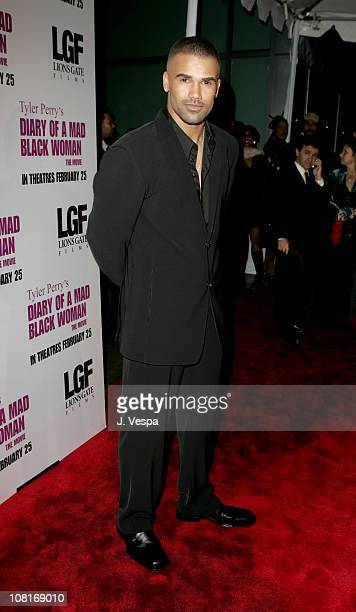 Shemar Moore during Tyler Perry's Diary of a Mad Black Woman Los Angeles Premiere Red Carpet at Arclight Hollywood in Hollywood California United...
