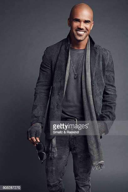 Shemar Moore poses for a portrait at the 2016 People's Choice Awards at the Microsoft Theater on January 6 2016 in Los Angeles California
