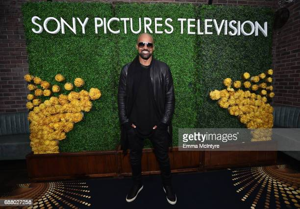 """Shemar Moore star of the new Sony Pictures Television series """"SWAT"""" attends the Sony Pictures Television LA Screenings Party at Catch LA on May 24..."""