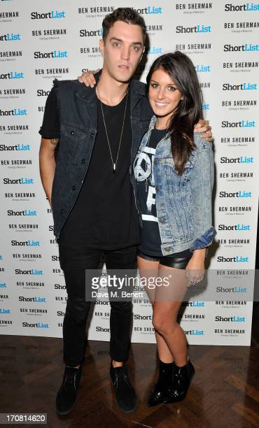 Shenae Grimes and Josh Beech attend the London Collections Men ShortList Ben Sherman Party at Sketch on June 18 2013 in London England