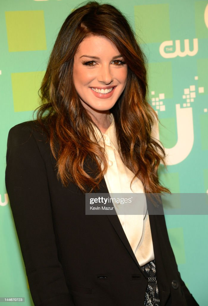 Shenae Grimes attends the CW Network's 2012 Upfront at The London Hotel on May 17, 2012 in New York City.