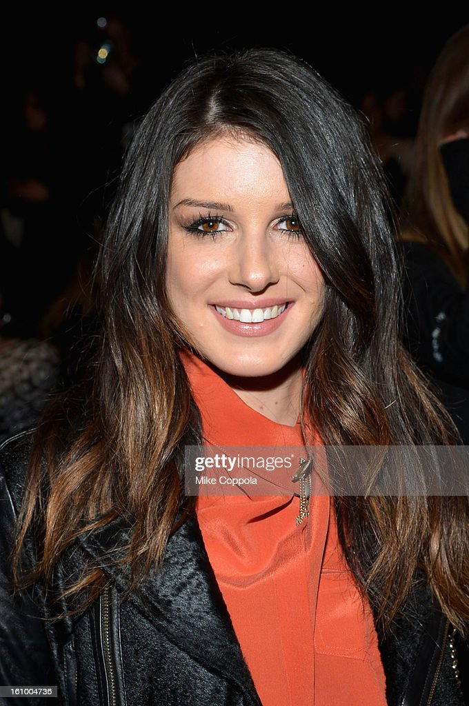 <a gi-track='captionPersonalityLinkClicked' href=/galleries/search?phrase=Shenae+Grimes&family=editorial&specificpeople=2153141 ng-click='$event.stopPropagation()'>Shenae Grimes</a> attends the Rebecca Minkoff Fall 2013 fashion show during Mercedes-Benz Fashion at The Theatre at Lincoln Center on February 8, 2013 in New York City.