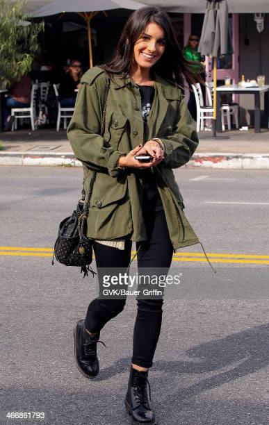 Shenae Grimes is seen on February 04 2014 in Los Angeles California